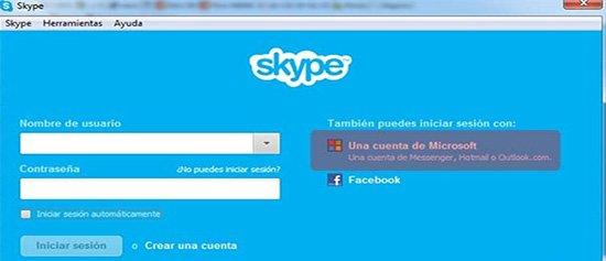 Cómo conectarse a Skype