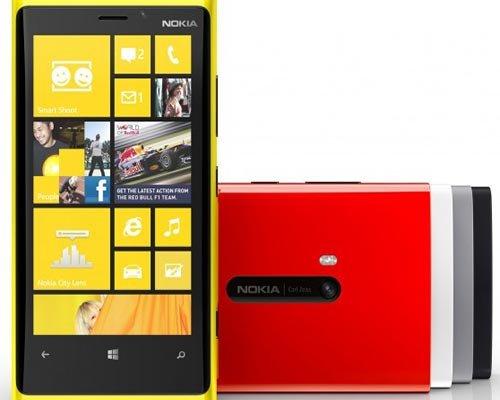 Nokia Lumia 920: características de la cámara