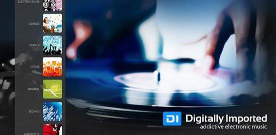 Las mejores aplicaciones para escuchar música en tu Android: Digitally Imported Radio