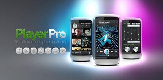 Las mejores aplicaciones para escuchar música en tu Android: PlayerPro Music Player