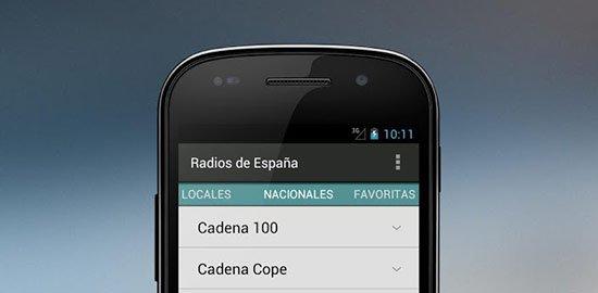 Las mejores aplicaciones para escuchar música en tu Android: Radios de España