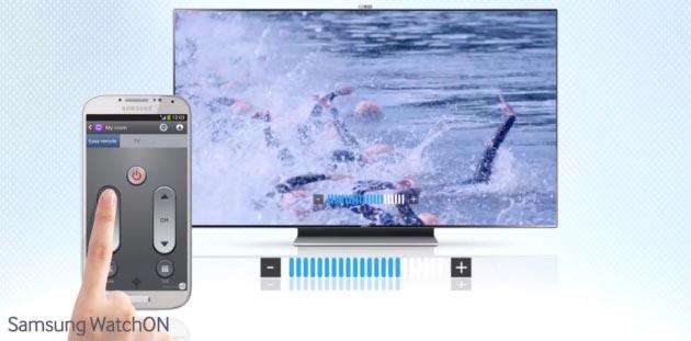 """Funciones Galaxy S4: Mando a distancia """"Samsung WatchON"""""""
