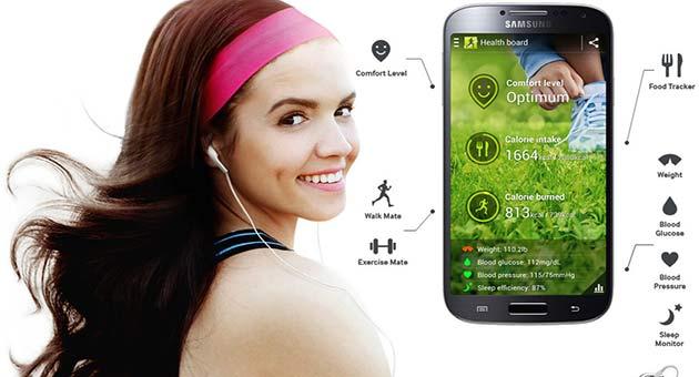 Funciones Galaxy S4: S Health
