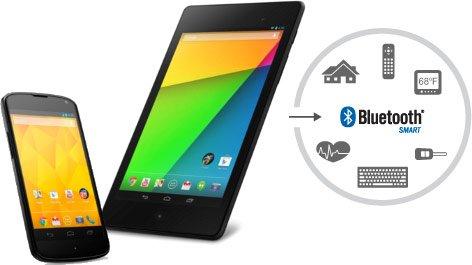 Bluetooth Low-Energy y mejoras de conectividad Android 4.3