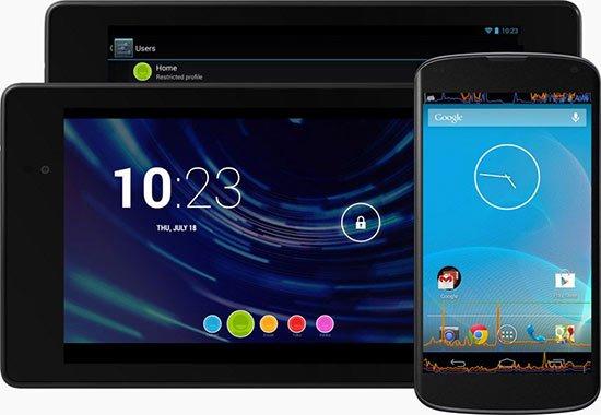 Novedades en la Interfaz de Android 4.3