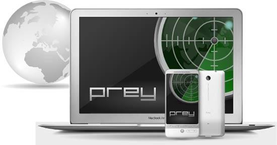 Apps para localizar móviles - Prey