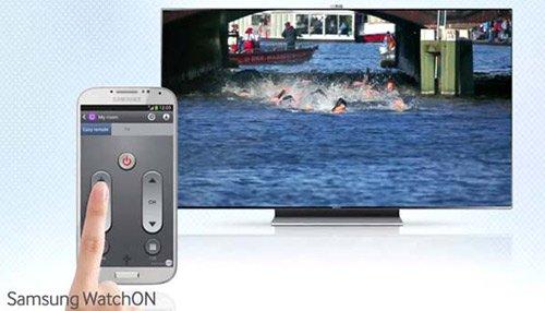 Controla el televisor con tu Galaxy S4