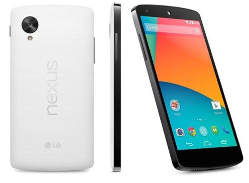 Características del nuevo Nexus 5