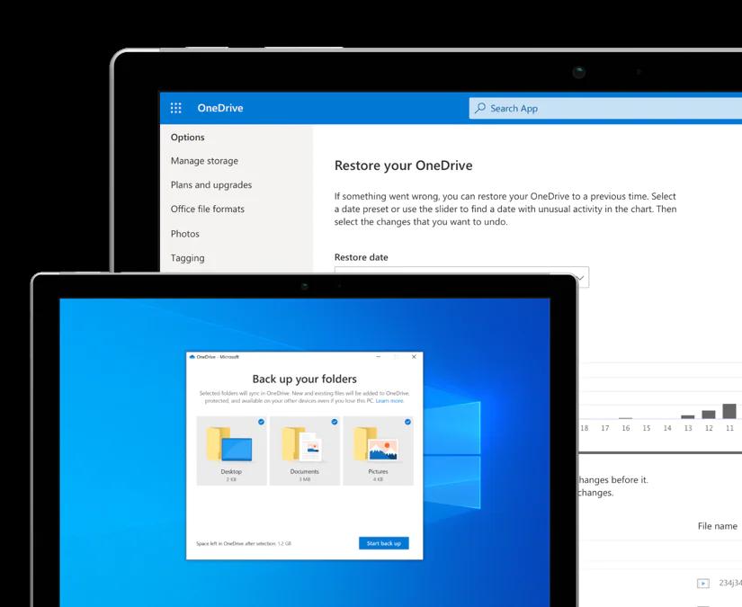 Microsoft OneDrive profesional para empresas