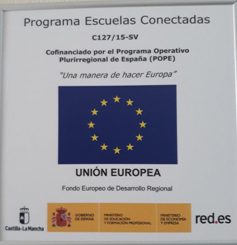 Escuelas conectadas Castilla La Mancha
