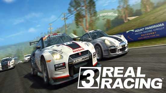 Los mejores juegos Android 2013 - Real Racing 3