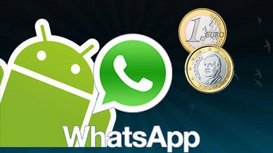 WhatsApp ya no es una aplicación gratuita