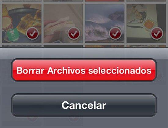Liberar espacio de WhatsApp - Borrar archivos