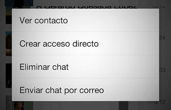 Liberar espacio de WhatsApp - Borrar o guardar chats