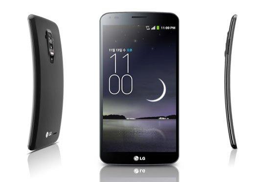 Los mejores móviles 2014 - LG G Flex