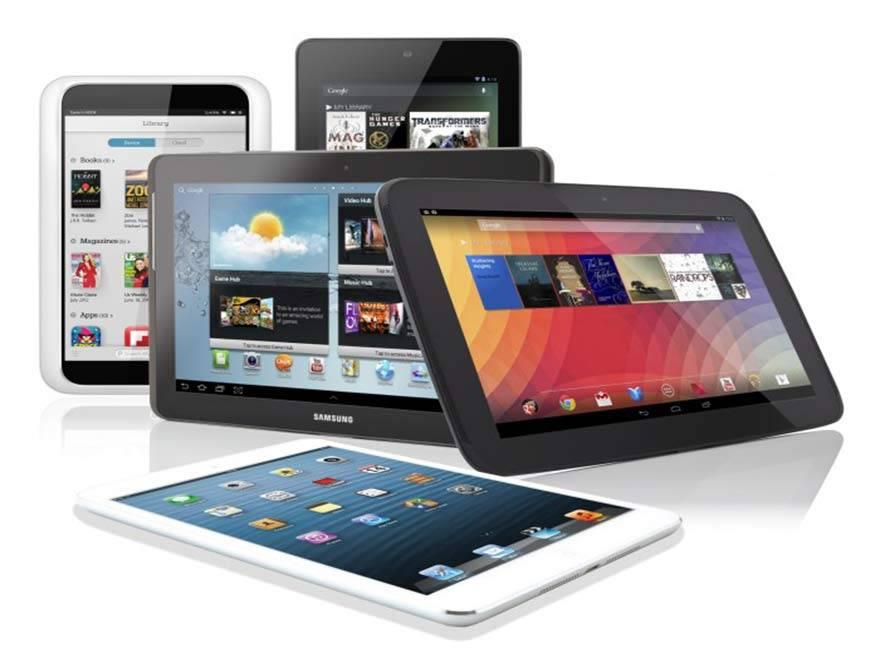 Las tabletas superarán las ventas de portátiles