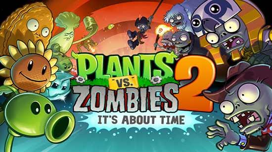 Los mejores juegos Android 2013 - Plants vs Zombies 2
