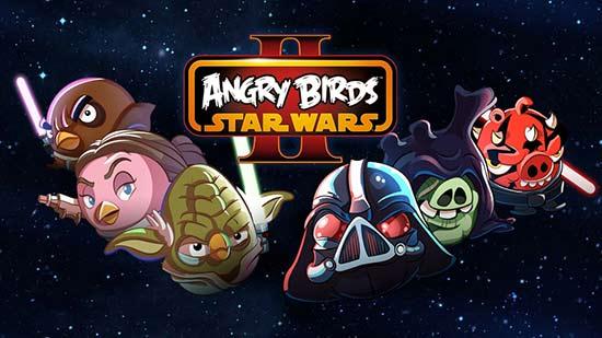 Los mejores juegos Android 2013 - Angry Birds Star Wars 2